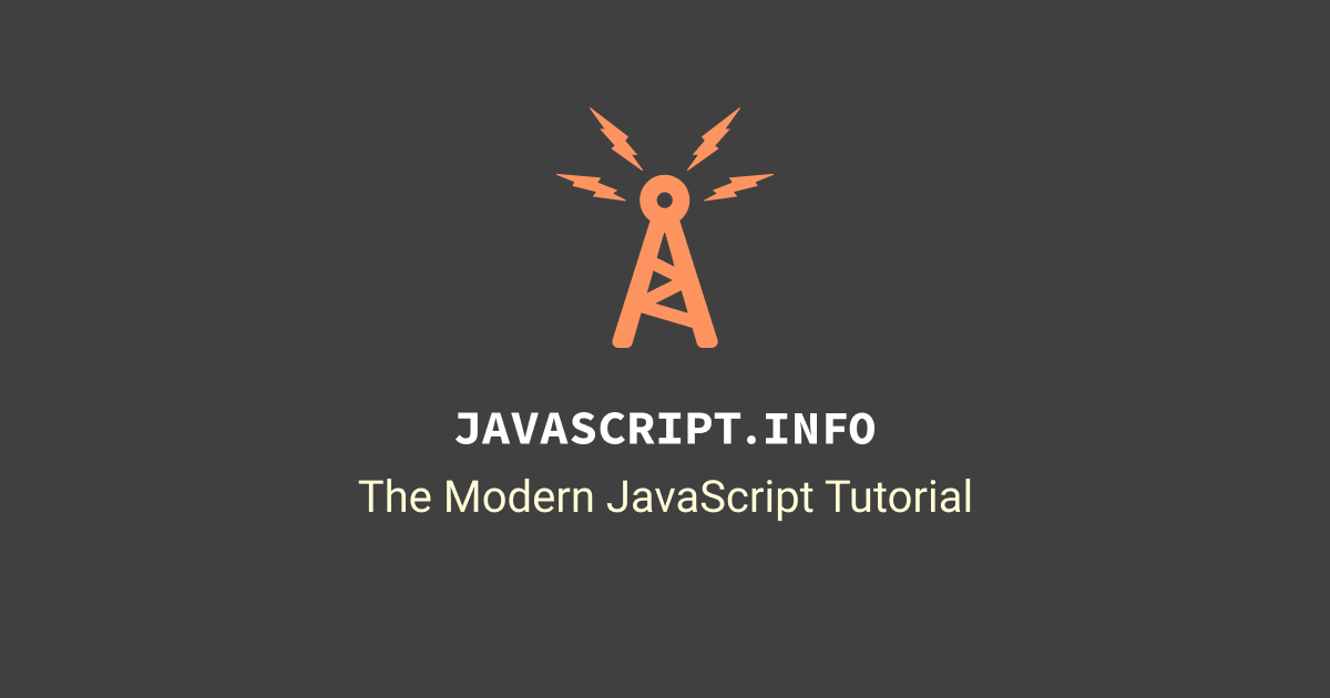 The Modern Javascript Tutorial